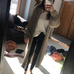 Urban Outfitters Chunky long cardigan